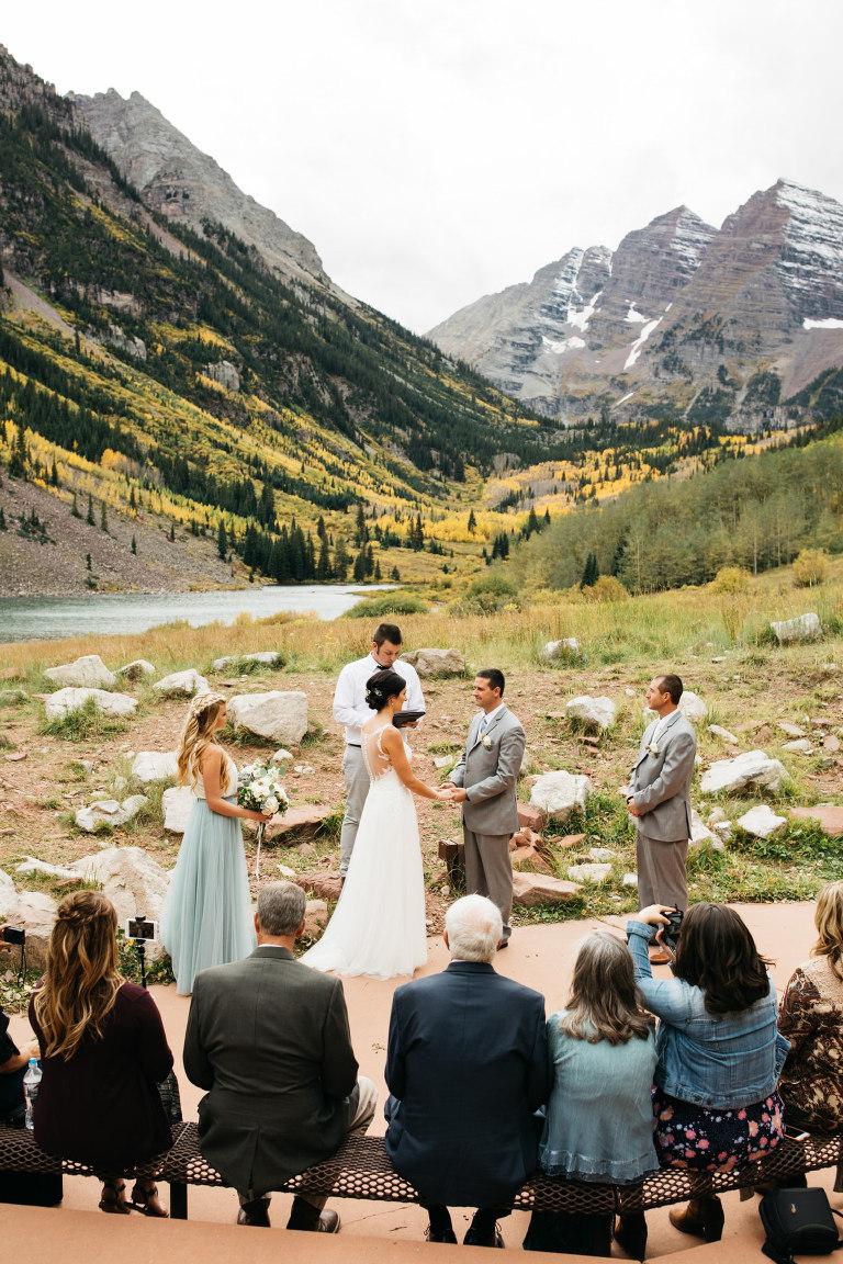 Des moines amphitheater wedding
